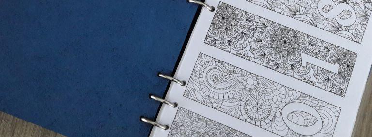 Bullet journal - Bujo - 2018 à imprimer et colorier