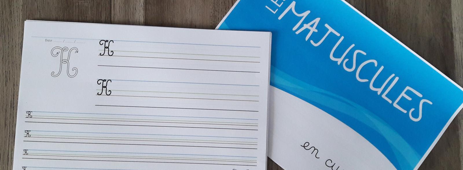Fichier d'écriture des majuscules