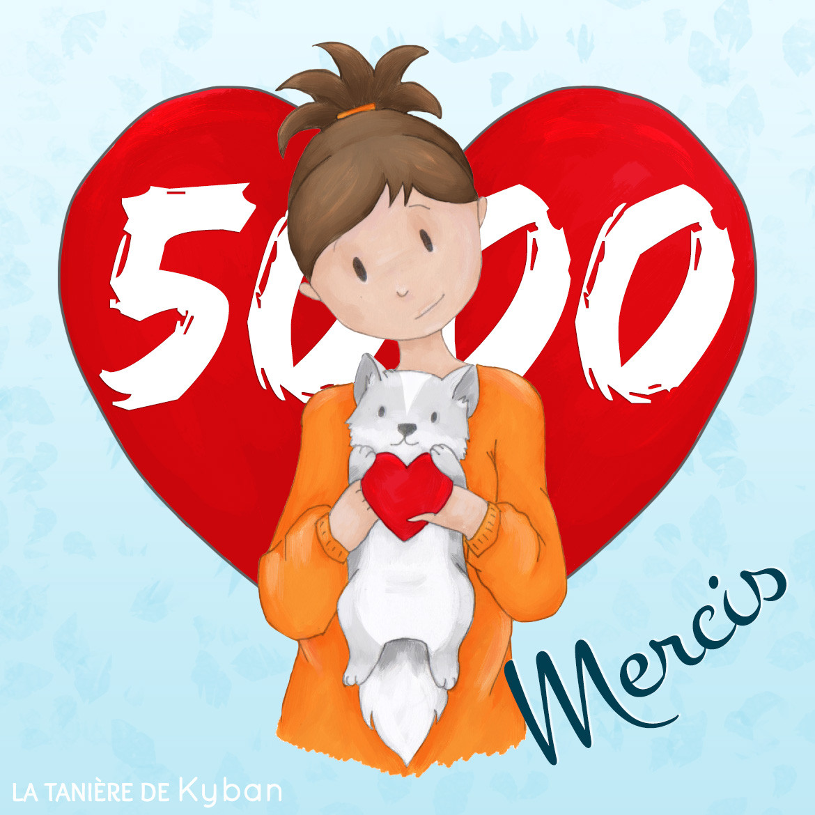 5000 likes sur Facebook