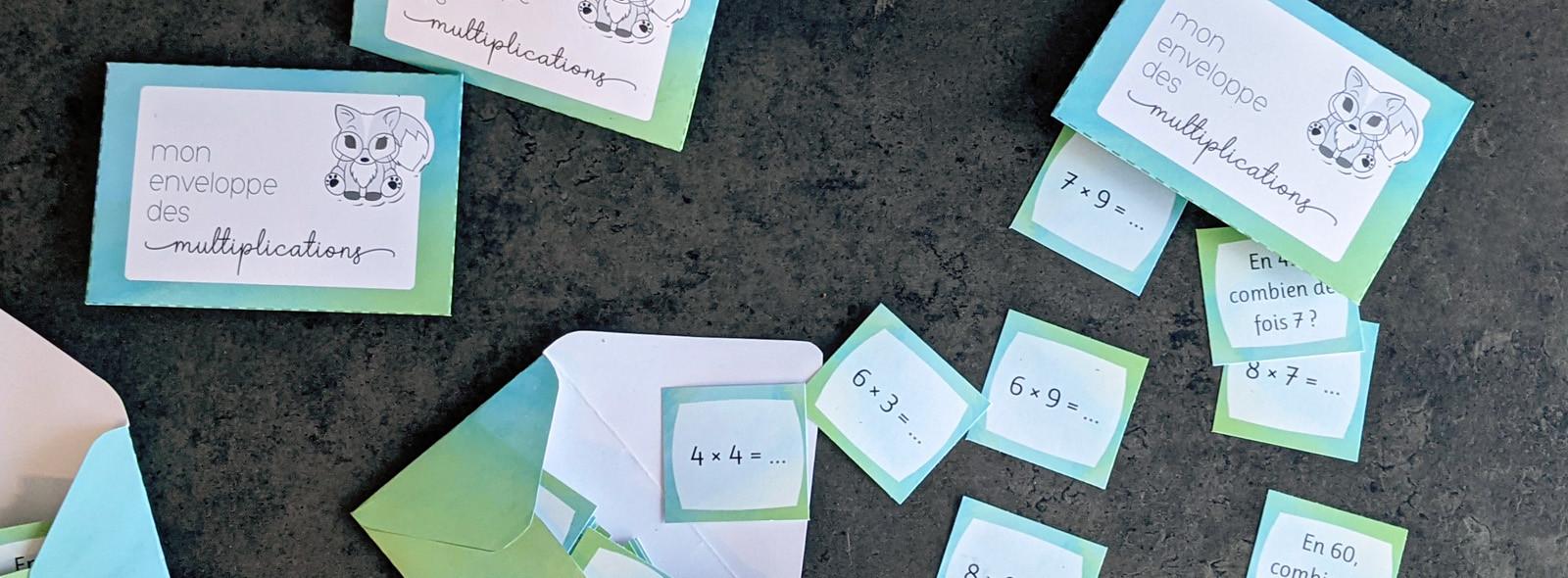Enveloppes des multiplications
