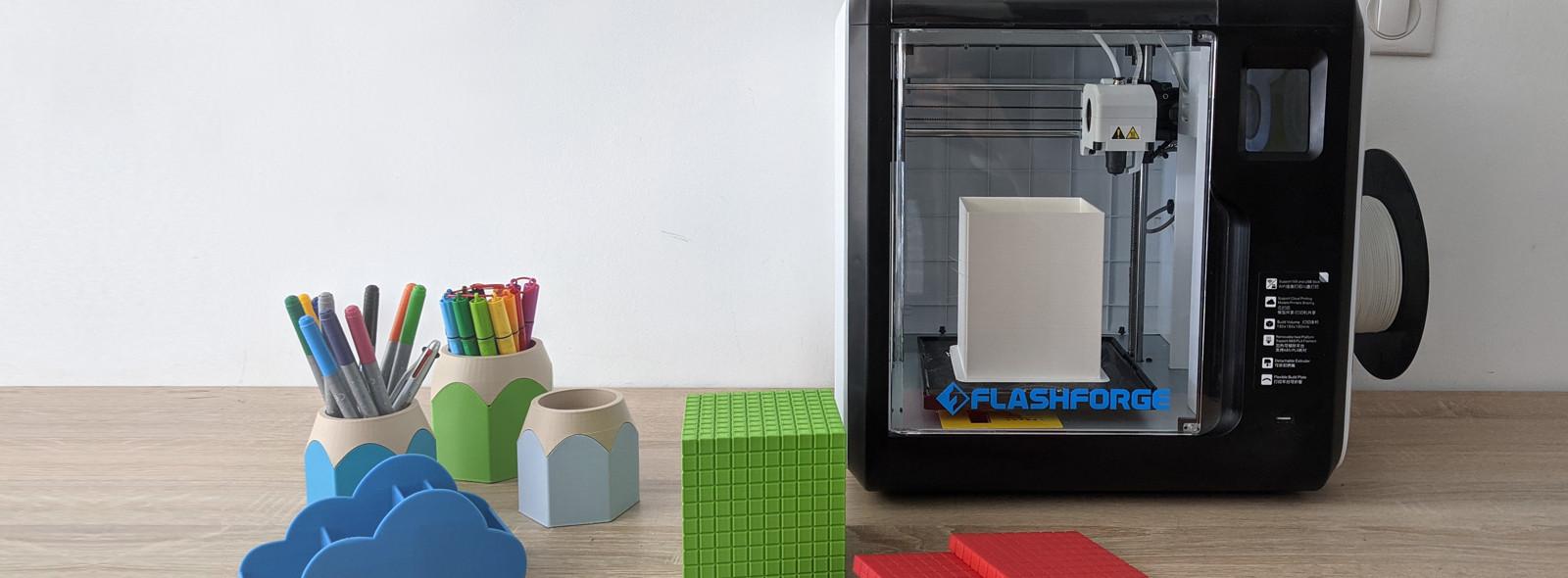 Une imprimante 3D pour l'école