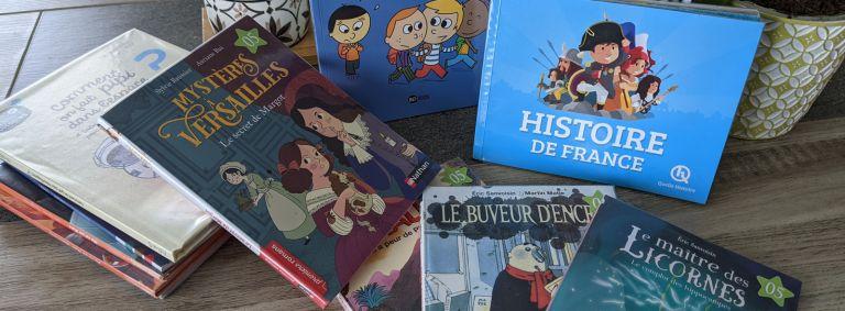 Livres pour la bibliothèque de classe (BCD)